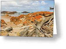 The Edge Of The World 2 Greeting Card