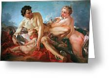 The Education Of Cupid Greeting Card