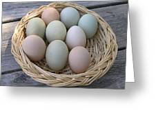 The Eggs Greeting Card