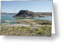 The Elephant At Elephant Butte Lake  Greeting Card by Allen Sheffield