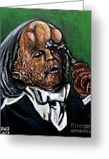 The Elephant Man Greeting Card