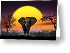 The Elephant Greeting Card