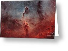 The Elephant Trunk Nebula Greeting Card by Rolf Geissinger