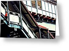 The Elevated Station At 125th Street Greeting Card