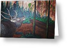 The Elk Greeting Card