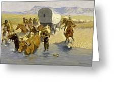 The Emigrants Greeting Card