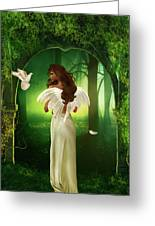 The Emotion Of The Angel Greeting Card
