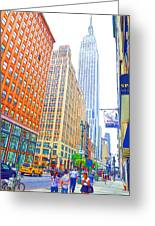 The Empire State Building 3 Greeting Card