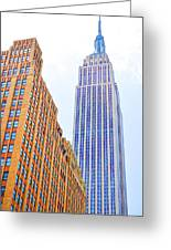 The Empire State Building 4 Greeting Card