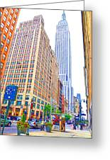 The Empire State Building 5 Greeting Card