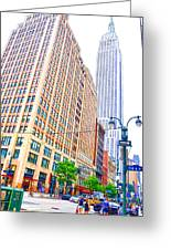 The Empire State Building 6 Greeting Card