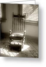 The Empty Chair Greeting Card