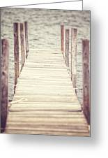 The Empty Dock Greeting Card