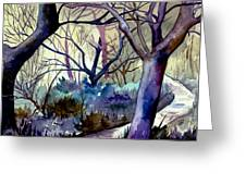 The Enchanted Path Greeting Card