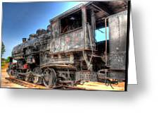 The Engine #3 Greeting Card