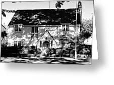 The English Tutor House Greeting Card