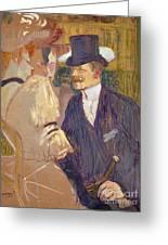 The Englishman  Greeting Card
