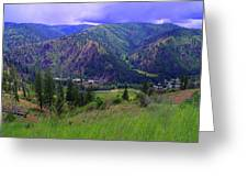 The Entiat Valley  Greeting Card