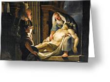The Entombment Greeting Card