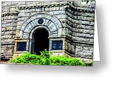 The Entrance To The Castle On Little Round Top Greeting Card