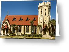 The Episcopal Church Of Fernandina Beach Greeting Card