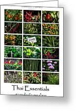 The Essential Thai Garden II Greeting Card