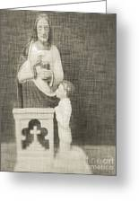 The Eucharist Greeting Card