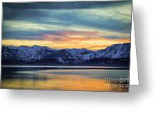 The Evening Colors Greeting Card