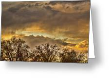 The Evening Sky Greeting Card