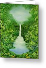 The Everlasting Rain Forest Greeting Card