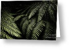 The Exotic Dark Jungle Greeting Card