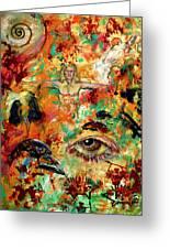The Eye Of Art Greeting Card