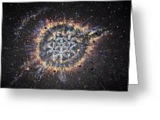The Eye Of God - Helix Nebula Greeting Card