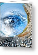 The Eye Of Nature 3 Greeting Card