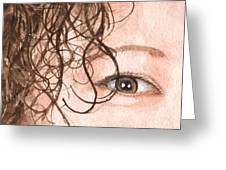 The Eyes Have It - Stacia Greeting Card