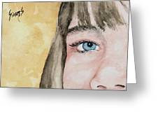 The Eyes Have It - Bryanna Greeting Card