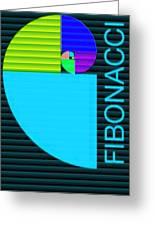The Fibonacci Equation Catus 1 No. 2 V B Greeting Card