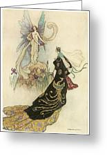 The Fairy Book Greeting Card by Warwick Goble