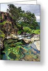 The Fairy Pools Greeting Card