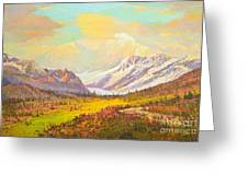 The Fall Colors Of Alaska Route 8 No.3 Greeting Card