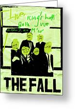 The Fall - Live 1979 Greeting Card