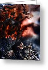 The Fall Of Azturath Greeting Card