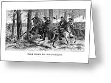 The Fall Of Reynolds - Civil War Greeting Card