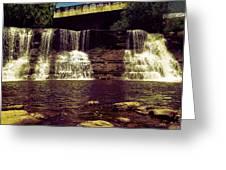 The Falls Greeting Card