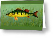 The Fanciful Limon Barb Greeting Card