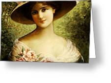 The Fancy Bonnet Greeting Card