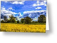 The Farm Art Greeting Card