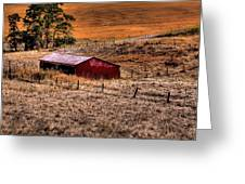 The Farm Greeting Card by David Patterson