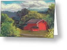 The Farm To The East Greeting Card