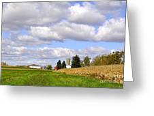 The Farmers Fields Greeting Card